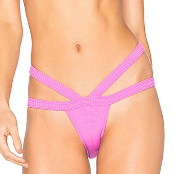 Minimale Animale Other - Minimale Animale Bandit Ribbed Bottom In Fever